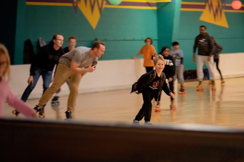 skate, kids, shaggy