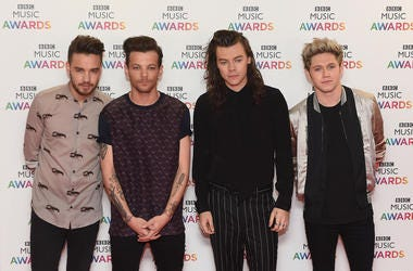 Liam Payne, Louis Tomlinson, Harry Styles and Niall Horan of One Direction